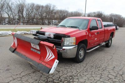 Truck with Snow Plow for Auction