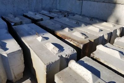 Concrete Barriers Auction