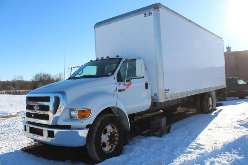 Online Auction Truck